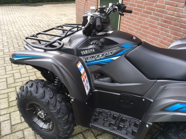 Nieuwe 2018 yamaha grizzly 700 special edition for 2018 yamaha grizzly 700 specs